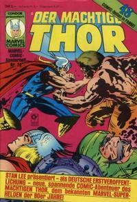 Cover Thumbnail for Marvel-Comic-Sonderheft (Condor, 1980 series) #24