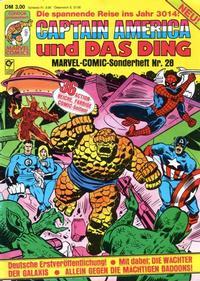 Cover Thumbnail for Marvel-Comic-Sonderheft (Condor, 1980 series) #28