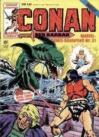 Cover Thumbnail for Marvel-Comic-Sonderheft (Condor, 1980 series) #31
