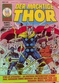 Cover Thumbnail for Marvel-Comic-Sonderheft (Condor, 1980 series) #33