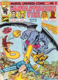 Cover Thumbnail for Marvel Universe Comic (Condor, 1991 series) #9