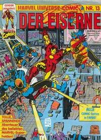 Cover Thumbnail for Marvel Universe Comic (Condor, 1991 series) #13