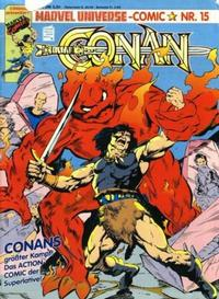 Cover Thumbnail for Marvel Universe Comic (Condor, 1991 series) #15
