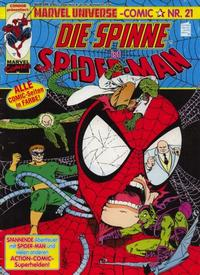 Cover Thumbnail for Marvel Universe Comic (Condor, 1991 series) #21