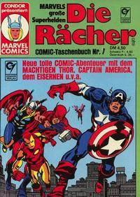 Cover Thumbnail for Die Rächer (Condor, 1979 series) #7