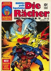 Cover Thumbnail for Die Rächer (Condor, 1979 series) #16
