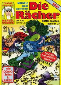 Cover Thumbnail for Die Rächer (Condor, 1979 series) #27