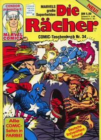 Cover Thumbnail for Die Rächer (Condor, 1979 series) #34