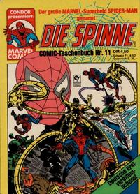 Cover Thumbnail for Die Spinne (Condor, 1979 series) #11