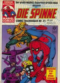 Cover Thumbnail for Die Spinne (Condor, 1979 series) #21