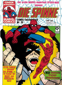 Cover Thumbnail for Die Spinne (Condor, 1979 series) #25