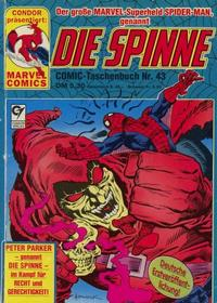 Cover Thumbnail for Die Spinne (Condor, 1979 series) #43