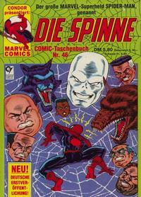 Cover Thumbnail for Die Spinne (Condor, 1979 series) #46