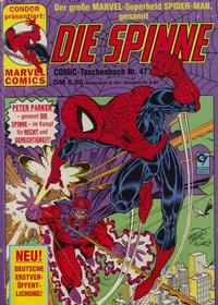 Cover Thumbnail for Die Spinne (Condor, 1979 series) #47