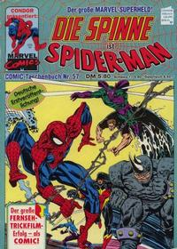 Cover Thumbnail for Die Spinne (Condor, 1979 series) #57