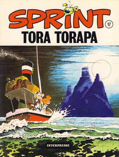 Cover for Sprint [Sprint & Co.] (Interpresse, 1977 series) #17 - Tora Torapa
