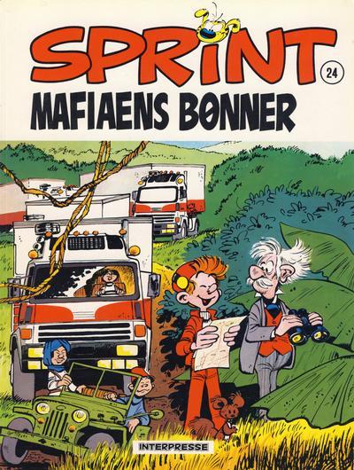 Cover for Sprint [Sprint & Co.] (Interpresse, 1977 series) #24 - Mafiaens bønner