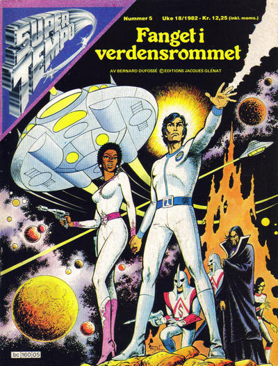 Cover for Supertempo (Hjemmet / Egmont, 1979 series) #5/1982
