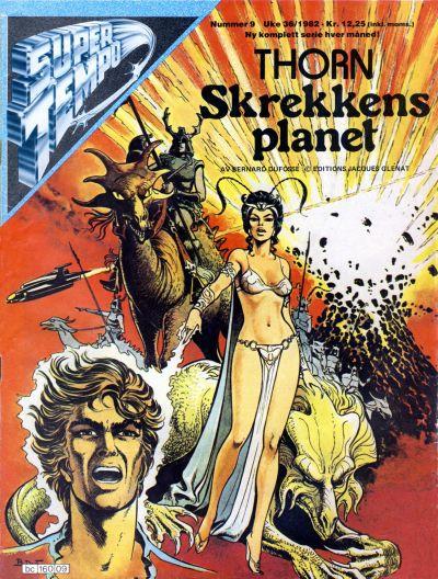 Cover for Supertempo (Hjemmet / Egmont, 1979 series) #9/1982
