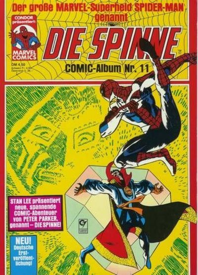 Cover for Die Spinne (Condor, 1979 series) #11