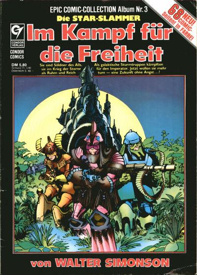 Cover for Epic Comic-Collection (Condor, 1983 series) #3 - Die Star-Slammer - Im Kampf für die Freiheit