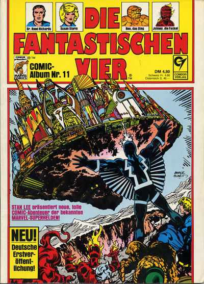 Cover for Die Fantastischen Vier (Condor, 1979 series) #11