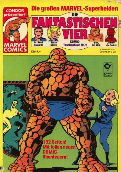 Cover for Die Fantastischen Vier (Condor, 1979 series) #2