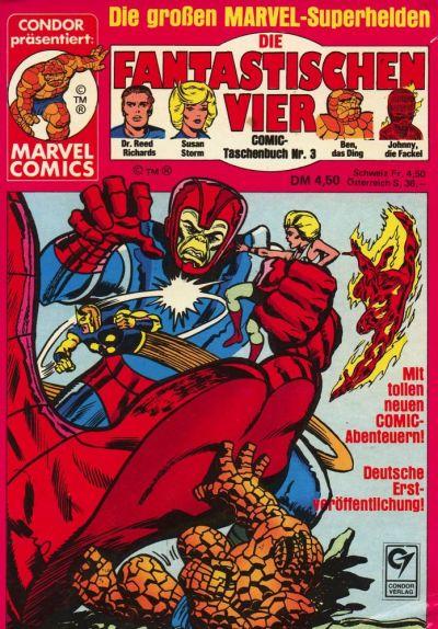 Cover for Die Fantastischen Vier (Condor, 1979 series) #3