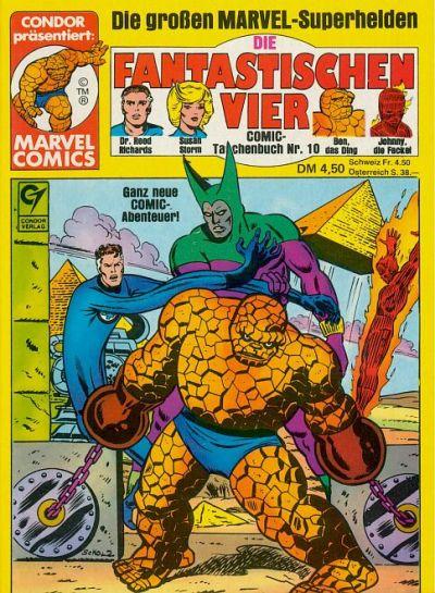 Cover for Die Fantastischen Vier (Condor, 1979 series) #10