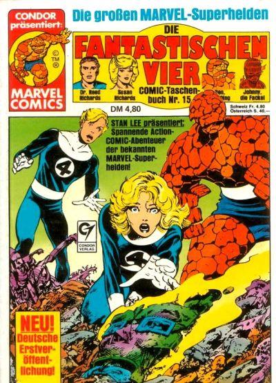 Cover for Die Fantastischen Vier (Condor, 1979 series) #15