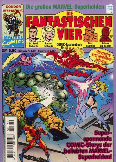 Cover for Die Fantastischen Vier (Condor, 1979 series) #44
