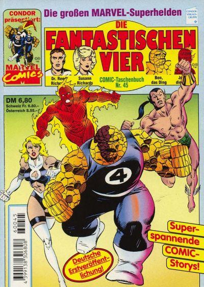 Cover for Die Fantastischen Vier (Condor, 1979 series) #45