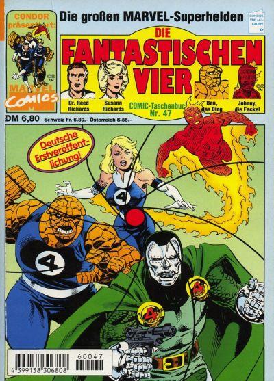 Cover for Die Fantastischen Vier (Condor, 1979 series) #47