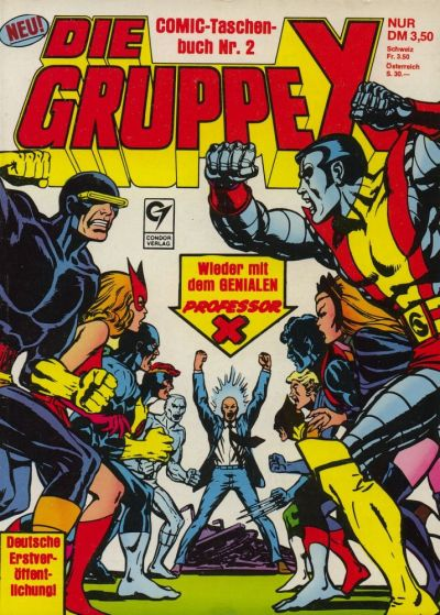 Cover for Die Gruppe X (Condor, 1985 series) #2