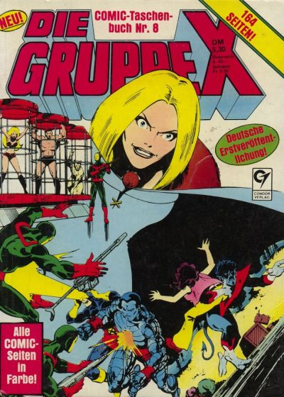 Cover for Die Gruppe X (Condor, 1985 series) #8