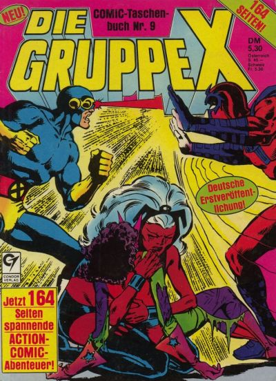 Cover for Die Gruppe X (Condor, 1985 series) #9