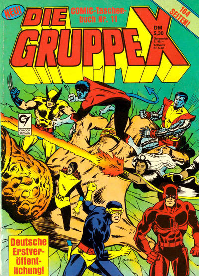 Cover for Die Gruppe X (Condor, 1985 series) #11