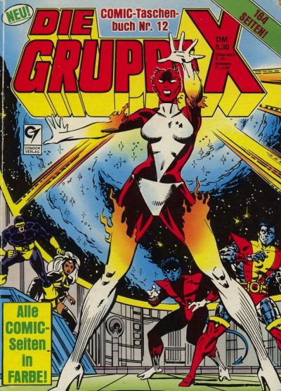 Cover for Die Gruppe X (Condor, 1985 series) #12