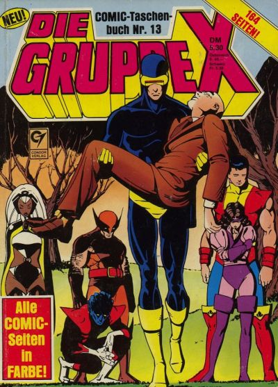 Cover for Die Gruppe X (Condor, 1985 series) #13