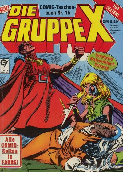 Cover for Die Gruppe X (Condor, 1985 series) #15
