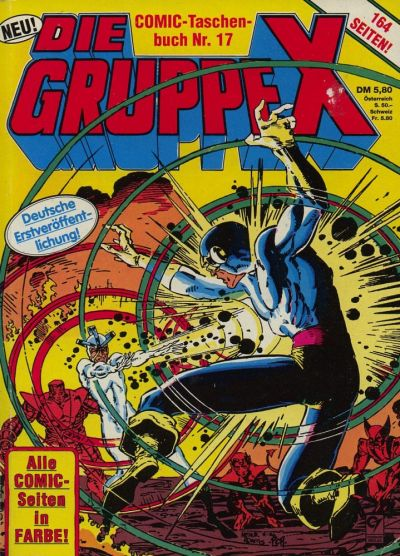 Cover for Die Gruppe X (Condor, 1985 series) #17