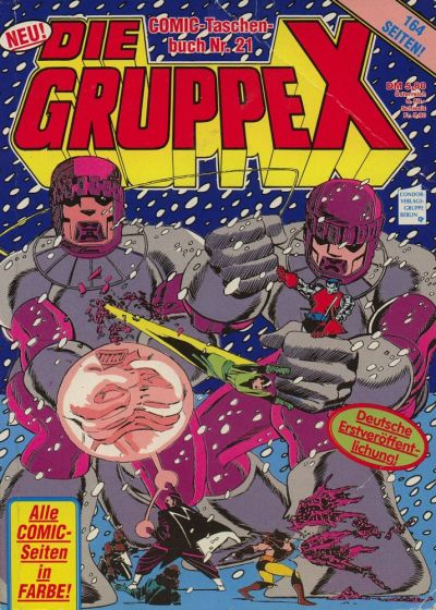 Cover for Die Gruppe X (Condor, 1985 series) #21