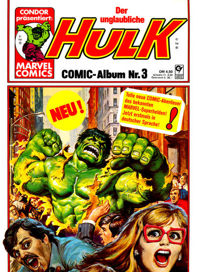 Cover for Hulk (Condor, 1979 series) #3