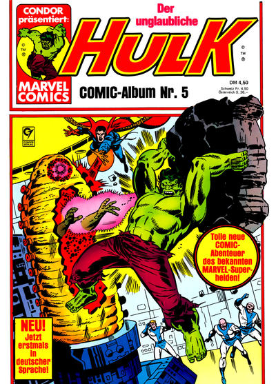 Cover for Hulk (Condor, 1979 series) #5
