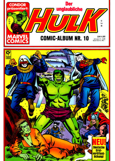 Cover for Hulk (Condor, 1979 series) #10