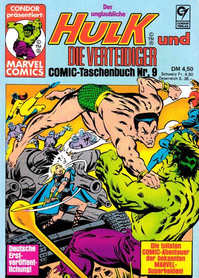 Cover for Der unglaubliche Hulk (Condor, 1980 series) #9