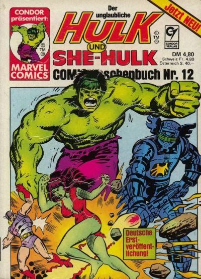 Cover for Der unglaubliche Hulk (Condor, 1980 series) #12