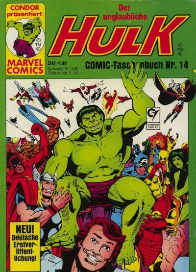 Cover for Der unglaubliche Hulk (Condor, 1980 series) #14
