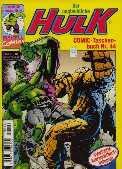 Cover for Der unglaubliche Hulk (Condor, 1980 series) #44