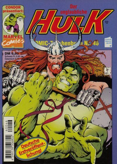 Cover for Der unglaubliche Hulk (Condor, 1980 series) #46